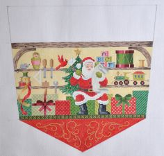 North Pole Series- Workshop Stocking Topper