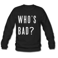 Preloved - Catalog Clothing : Who's bad sweater Unisex