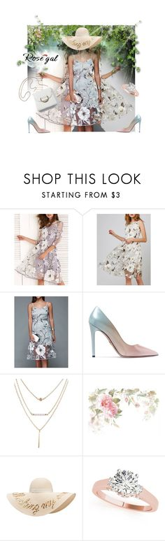 """Organza dresses"" by nuktanukta ❤ liked on Polyvore featuring Prada and Eugenia Kim"