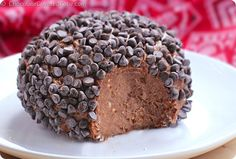 Chocolate Peanut Butter Cheese Ball