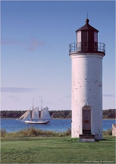 Beaver Island Harbor LightSt. James Township Beaver Island Michigan US45.742778, -85.508611