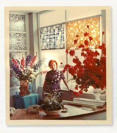 #yearofpattern florence broadhurst at her desk in paddington
