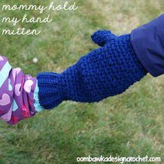 Mommy Hold My Hand! Mitten