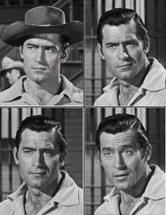 """Final episode of the series - """"Showdown at Ox Bend"""" Hollywood Stars, Old Hollywood, Clint Walker Actor, Cheyenne Bodie, Tv Westerns, Star Wars, Western Movies, John Wayne, Famous Men"""