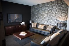 The lounge room of the luxury Suite at Rydges Latimer Christchurch. Penthouse Suite, Luxury Penthouse, Penthouses, Sofa, Couch, Lounge, Furniture, Home Decor, Mulches