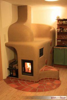 Lehm und Feuer Clay Ovens by Clay & Fire lehmundfeuer.de Batch Rocket Stove Mass Heater Similar mass heating characteristics to masonry heaters