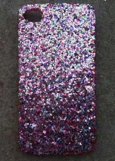Tinsel Glitter iPhone 4 4s Hard Cover Case by kaylafenton on Etsy, $10.00