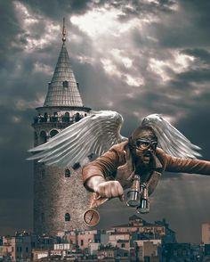 Фантастический мир в фотоманипуляциях Хусейна Шахина « FotoRelax