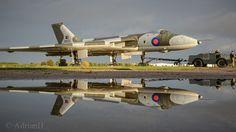 Navy Aircraft, Military Aircraft, Airplane History, Avro Vulcan, Delta Wing, Post War Era, Rule Britannia, Diesel Locomotive, Military Weapons