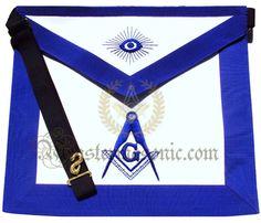 Masonic Royal Arch Mason Member Apron Tassels Rope Freemasonry Collectible Gift