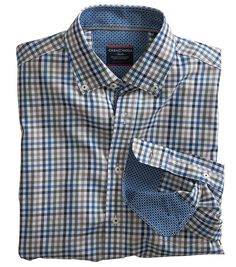 Dunkeld Cotton Shirt by Casa Moda | Casual Shirts for Men from Fife Country