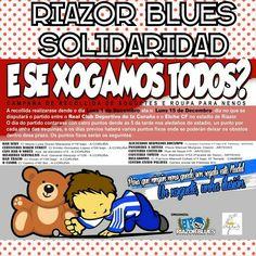 Si hace unas semanas el motivo de la movilización fue la recogida de alimentos, los Riazor Blues ahora lo hacen para la recolección de ropa y juguetes para los niñosmás necesitados. Varios locales coruñeses,desde el día 1  hasta el 15 de diciembre,colaboran en la de recogida por toda la ciudad. Con ello,el 15 de diciembre, día en el que el Deportivo disputa en Riazor el partido contra el Elche, los Riazor Blues pondránpuntos de recogida en las cuatro esquinas del estadio, tal y como se…