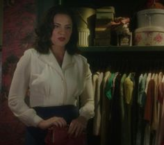 Agent Carter White Blouse Detail