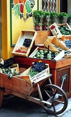 Provence market. Repinned by www.mygrowingtraditions.com