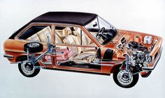 Ford Fiesta pictures - Free greatest gallery of Ford Fiesta pictures for your desktop. HD wallpaper for backgrounds Ford Fiesta car tuning Ford Fiesta and concept car Ford Fiesta wallpapers. Cutaway, Old Classic Cars, Car Illustration, Old Fords, Car Ford, Retro, Concept Cars, Vintage Cars, Instagram