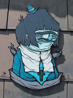 Ilustración para t-shirts, 3D, graffiti y más de Mr. GAUKY  Un referente en exploración técnica y diversidad desde El Reino Unido.    Leer más: http://www.colectivobicicleta.com/2012/07/ilustracion-de-mr-gauky.html#ixzz20Br6adpo