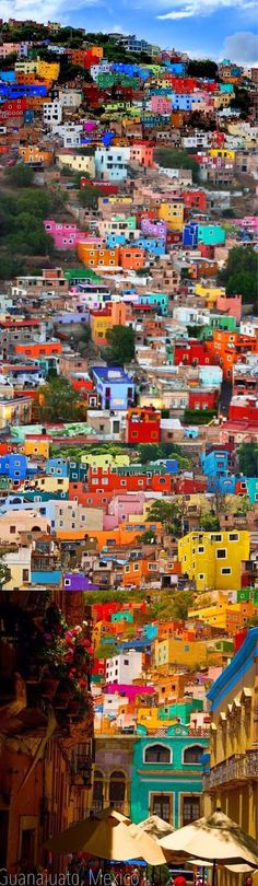Guanajuato, Mexico  (Link is annoyingly slow website, but this pic is awesome)