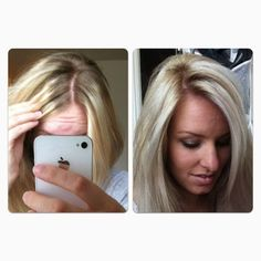 blonde hair dye at home