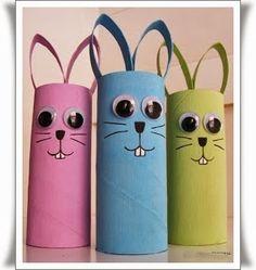 Tuvalet Kağıdı Rulosundan Tavşan Tuvalet kağıdı rulosunu kullanarak kolay tavşan figürleri yapabilirsiniz. Evinizde kullandıktan sonra arta kalan tuvalet kağıdı rulolarını atmayın. Bu ruloları kull…