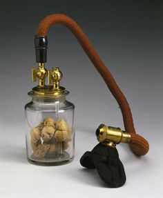 Early inhaler for ether anaesthesia, 1847-1848