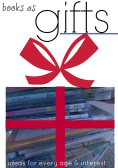 books as gifts: holiday ideas for kids | recommendations by @Allison @ No Time For Flash Cards and @amy mascott @teachmama for @Scholastic raise a reader blog #weteach