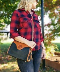 Pre Owned authentic vintage Dooney and Bourke. Price 85.00$CAN FashionWoo ship throughout Canada and US #fashionwoo #crossbody #dooneybourke #fashionista #vintage Handbags Michael Kors, Dooney Bourke, Designer Handbags, Marc Jacobs, Louis Vuitton, Canada, Plaid, Ship, Jackets