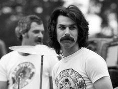 Drummers Bill Kreutzmann, left, and Mickey Hart perform with The Grateful Dead at a free concert in . - Ed Perlstein/Redferns/Getty Images I Love Tour, Mickey Hart, Dead Pictures, Bob Weir, Dead And Company, The Jam Band, Dead To Me, Forever Grateful, Band Photos