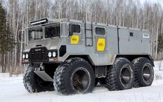 People always go for more, hence the wealth of all imaginable all-terrain vehicles that have come along, including the LCC-1-Sno-Train, Russia's GAZ-VM and a slew of other kick-ass off-roaders.