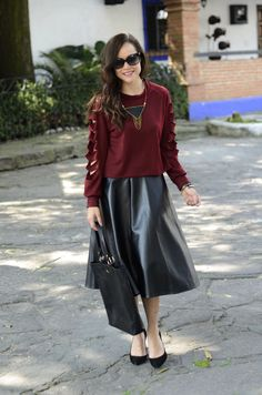 Oh, I love that skirt and top! Gorgeous.