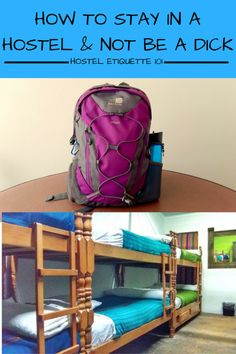 Hostel Etiquette : How to Stay in a Hostel & Not Piss off your Roommates - Tales of a Backpacker. After 18 months of sleeping in hostel dorms I have realised that there are certain unwritten rules that really do need writing down! If this is your first time in a hostel, or five hundredth time, please read these tips on hostel etiquette, for your roommates' sake!