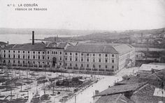Fabrica de tabacos. A Coruña