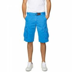 Gant Belted Cargo Shorts Bermuda Blue - £85 with FREE UK Delivery #FathersDay #Gifts #Gant