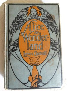 Antique Alice in Wonderland Book