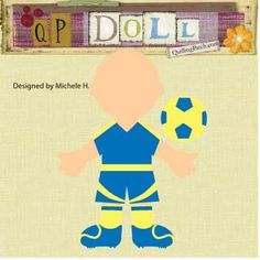 Download free  Soccer Paper Doll in GSD SVG KNK and WPC Format