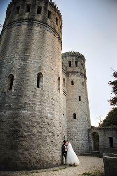 Castle Otttis at St. Augustine FL // central florida wedding venues