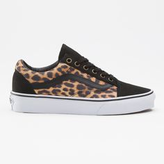#Leopard Old Skool #Vans