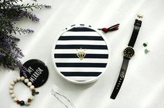 Jewelry Pouch l Double Sided l Store & Organize l www.CarolinaDesigns.com