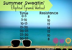 Summer Sweatin' Elliptical Workout
