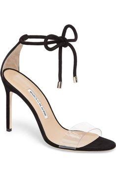 0dd2300ade8 Manolo Blahnik Estro Ankle Tie Sandal (Women)