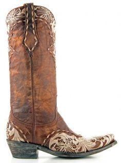 %u201COld Gringo%u201D Erin cowboy boots