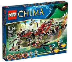 Lego Legends Of Chima: Cragger's Command Ship (70006)  Manufacturer: LEGO Enarxis Code: 013799 #toys #Lego #Chima