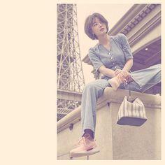 Kim Yoo Jung, Bo Gum, Capri Pants, Khaki Pants, Poses, Couples, Instagram Posts, Photography, Fashion