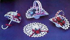 Vintage Crochet Wedding Favor Patterns by MAMASPATTERNS on Etsy, $3.50