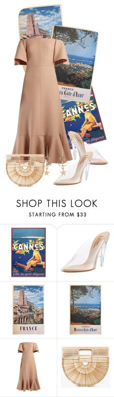 """""""Valentino cinderella"""" by never-been-loved ❤ liked on Polyvore featuring Yeezy by Kanye West, Valentino, Cult Gaia, Zimmermann, france, cannes and outfitsfortravel"""