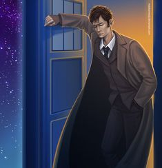 Doctor Who - The Doctor by maXKennedy on deviantART