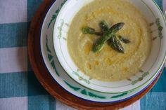 Cashew Cream of Asparagus Soup