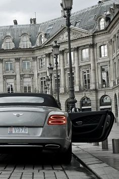 Newer Bentley GTC... one of the ultimate open air automobiles... Expensive and fast! www.kerlagons.com