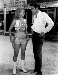 """Elvis Presley and Ann-Margret in undated photograph. She starred with Presley in 1964's """"Viva Las Vegas,"""" and supposedly had the King smitten until his death. (Studio handout)"""
