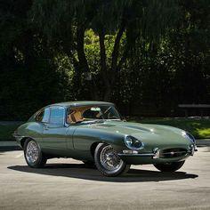 A perfect end to this week's Jaguar marathon. A 1963 Jaguar E-Type Series 1 3.8 Coupe in this fantastic spec. Photo b