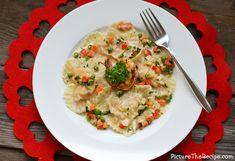 Valentine's Special: Heart Shaped Shrimp Ravioli | Picture the Recipe